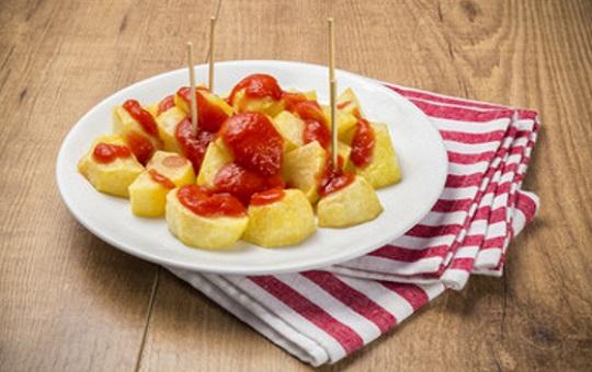 Salsa de patatas bravas