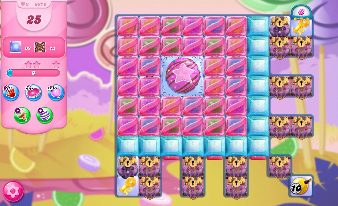 Candy Crush Saga level 6978