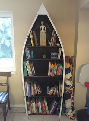 Boat Bookshelves