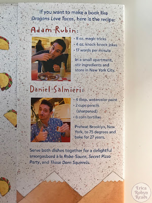 Dragons Love Tacos by Adam Rubin & Daniel Salmieri author blurbs