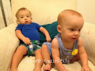 10 month old twins