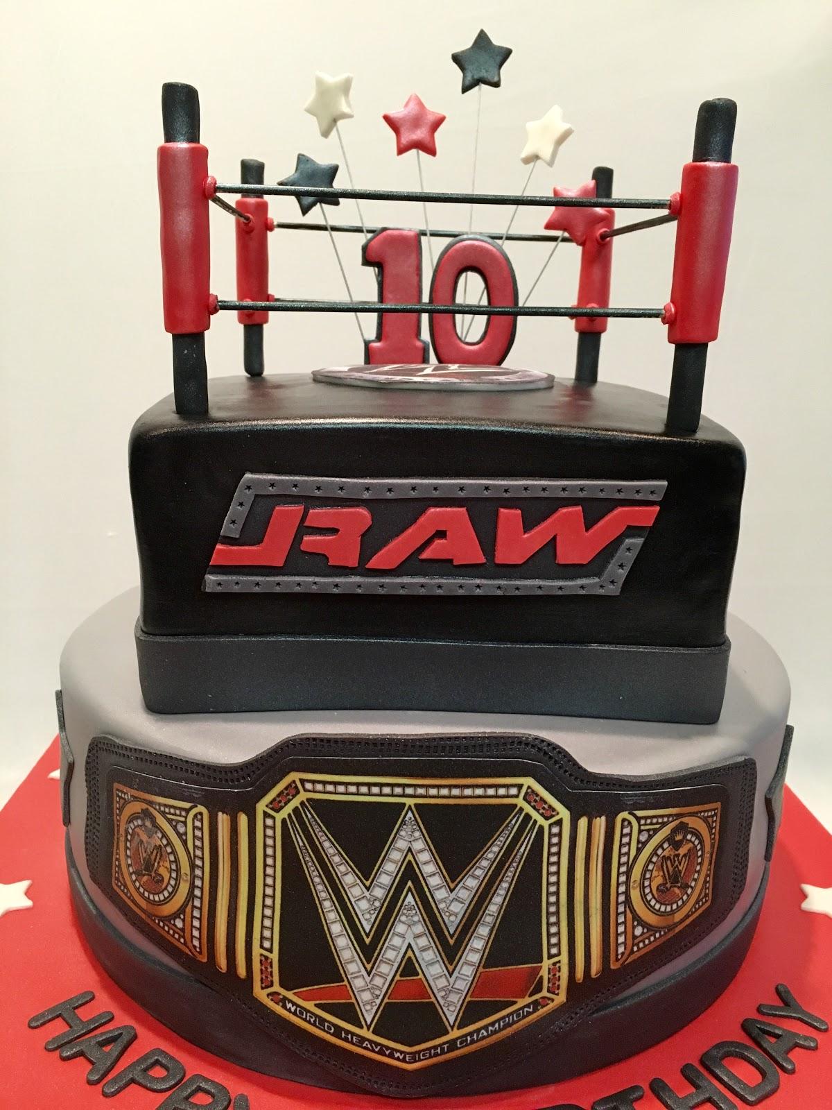 Mymonicakes Wwe Ring Cake With Belt