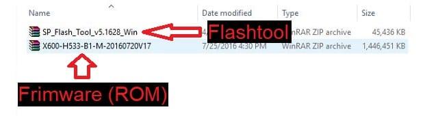 Cara install ulang/flashing Android Mediatek 2