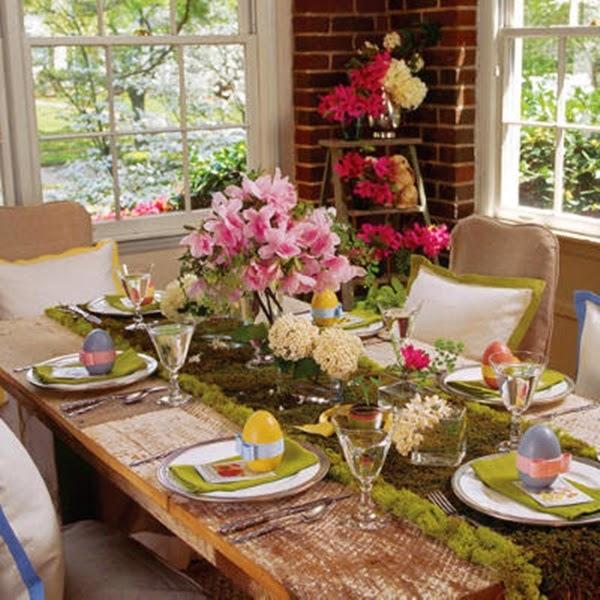 23 Ideias para decorra sua mesa na Páscoa