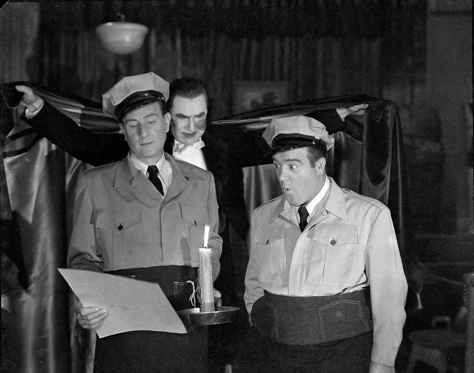 Bud Abbott Lou Costello Bela Lugosi Dracula