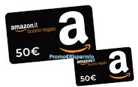 Logo Vinci gratis 20 buoni Amazon da 50€