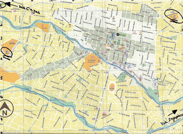 Mapa de Cuenca – Equador