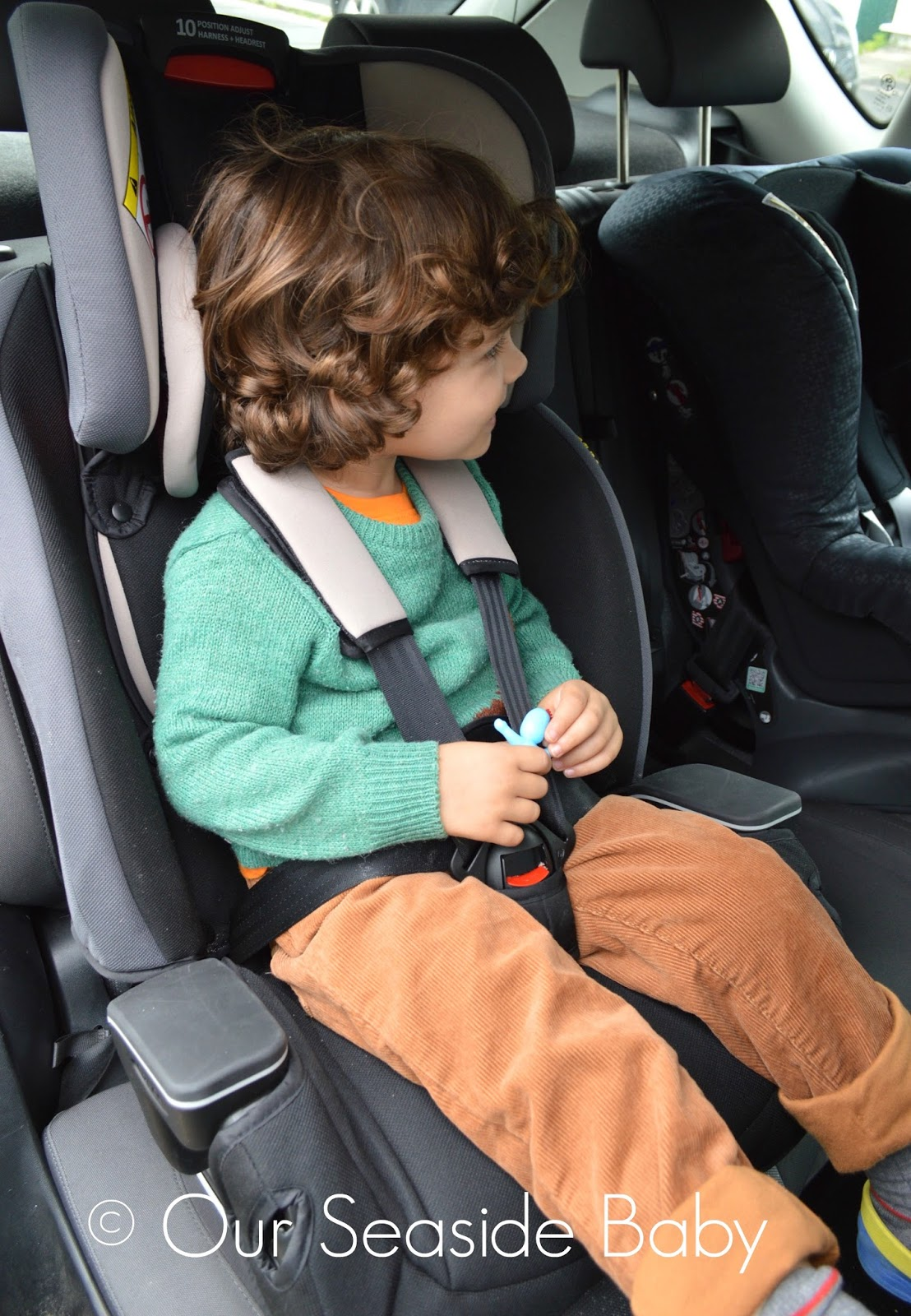 Reclining Positions On The Graco Milestone Car Seat