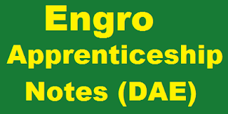 NTS Apprenticeship Sample Pattern Paper of Engro Fertilizer, Foods, Polymers, Powergen, Chemical Jobs