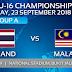 Live Streaming Malaysia VS Thailand 23/9/2018 (AFC U16)