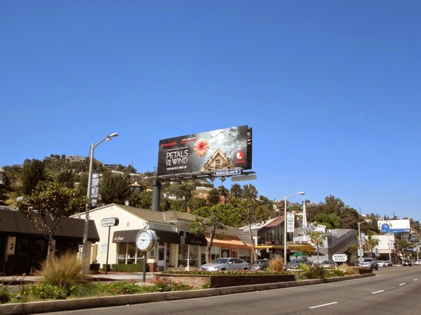 Petals on the Wind Lifetime billboard