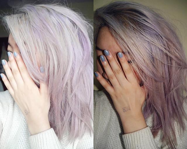 Silver Lilac Hair Schwarzkopf Live Lightener Twist