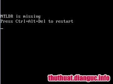 tie-smallHướng dẫn cách sửa lỗi NTLDR is missing máy tính cài hệ điều hành Windows XP 7 8 10
