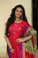 Manasa in Pink Salwar At Fashion Designer Son of Ladies Tailor Press Meet Pics ~  Exclusive 09.JPG