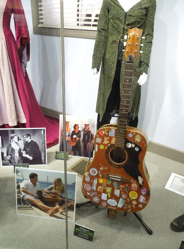Donna guitar prop Mamma Mia Movie
