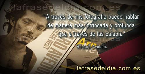 Frases fotográficas de Richard Avedon