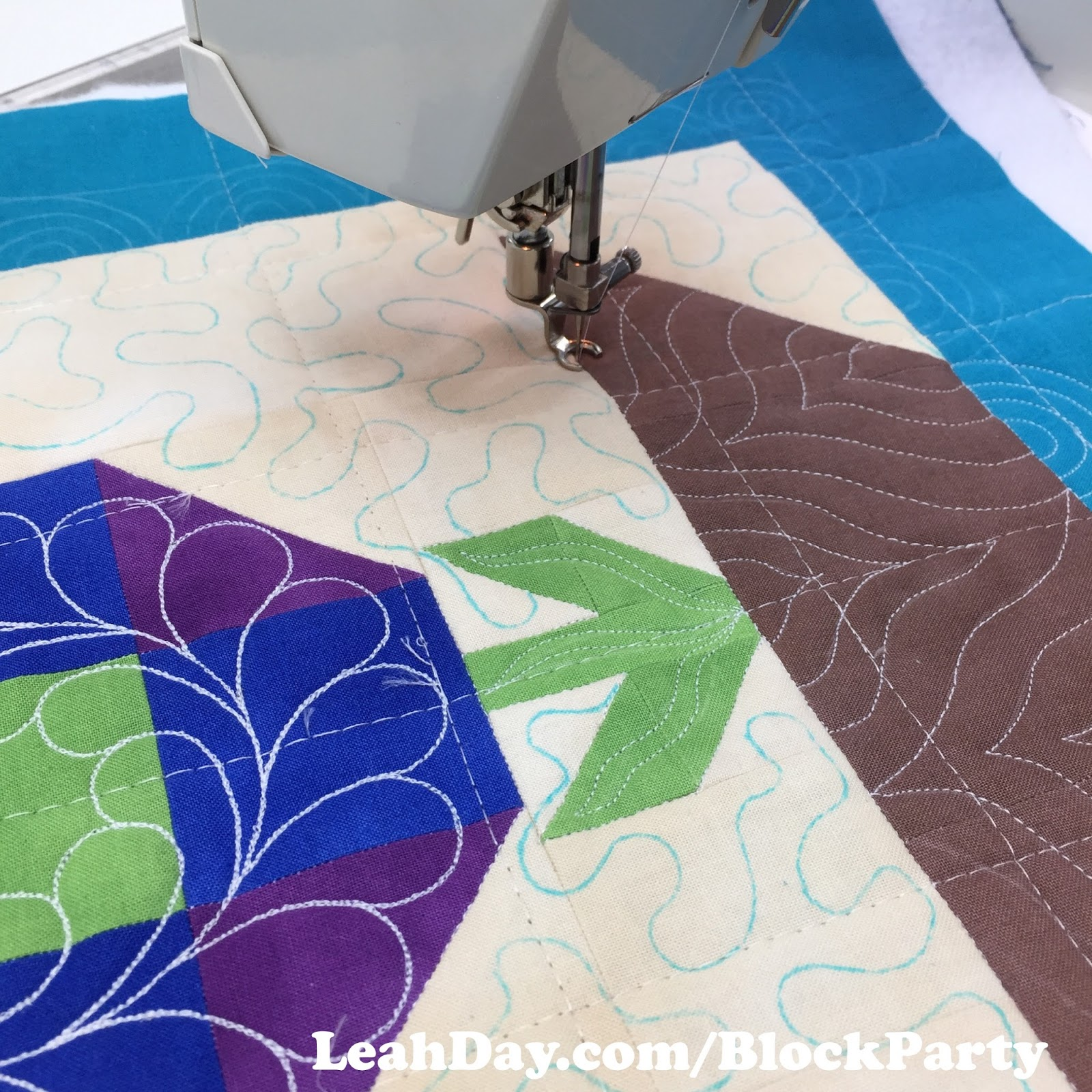 Welcome To The Machine Quilting Block Party 2017 Free