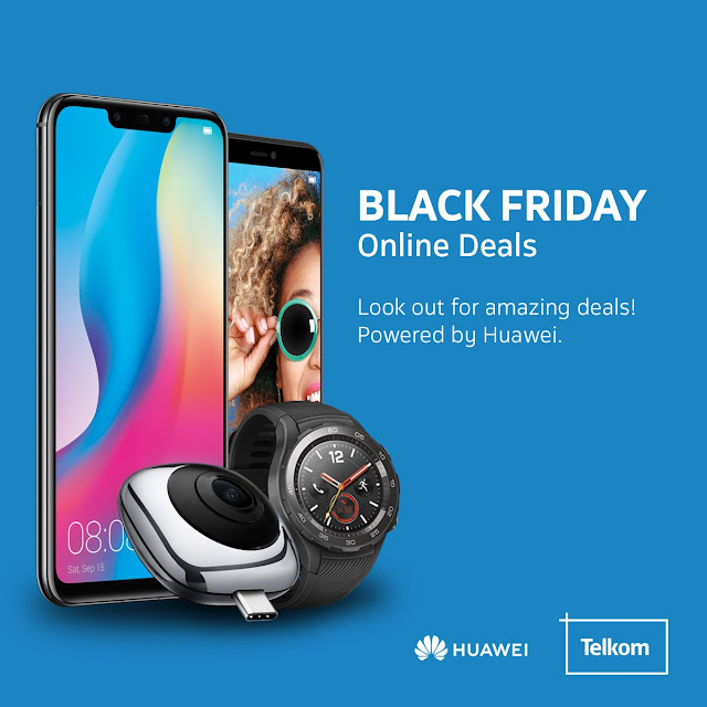 @HuaweiZA #BlackFriday Deals Goes the Whole Weekend! 23-25 Nov 2018 #HigherIntelligence