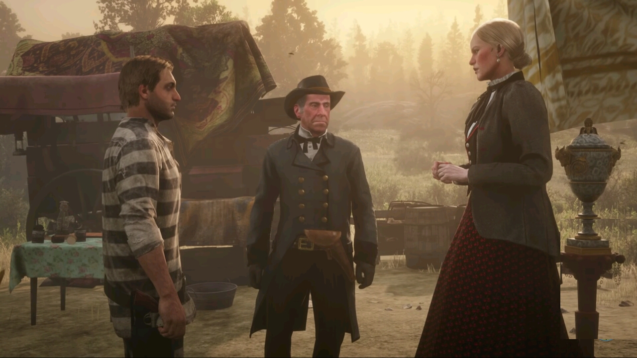 Red Dead Redemption 2 update version 1.05 for PS4 and Xbox One