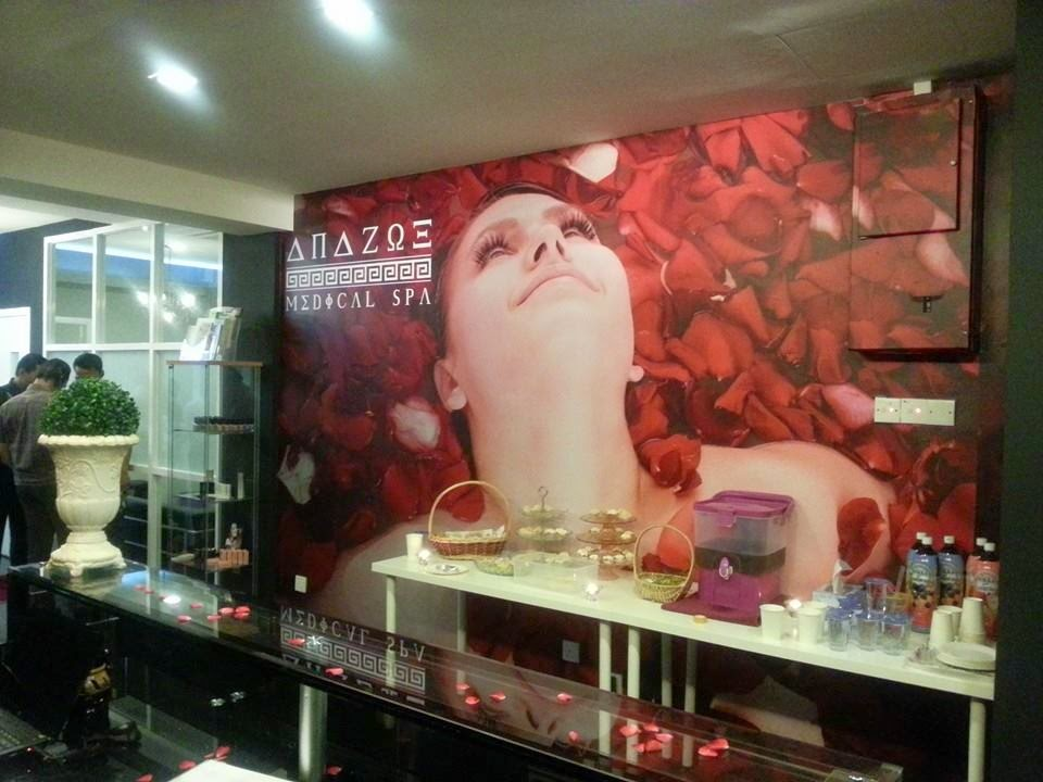 Spa, konsep yunani, cellmaxx spa, medical spa, body treatment, harga rawatan prp