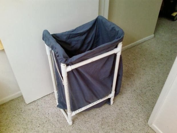PVC Pipe Laundry Basket