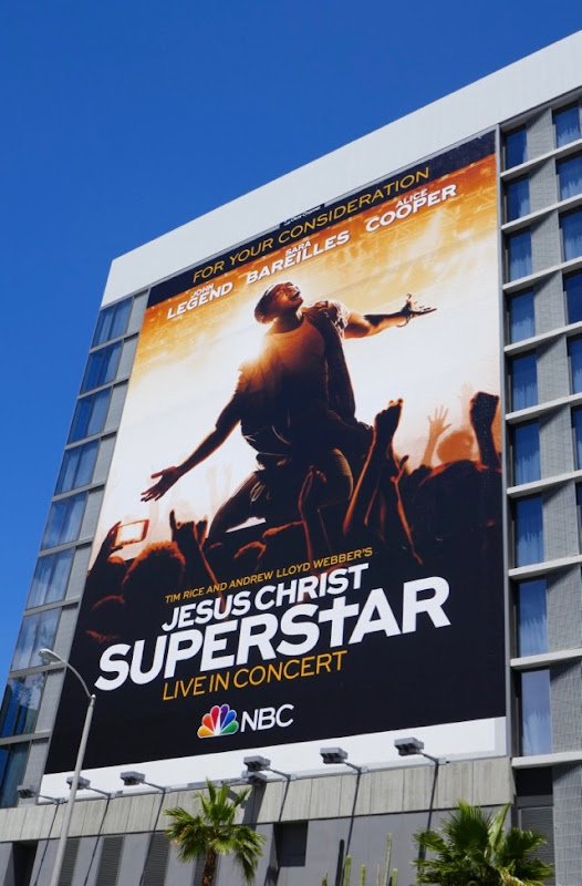 Jesus Christ Superstar Live Emmy FYC billboard