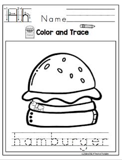 Summer Picnic Printable ~ Preschool Printables