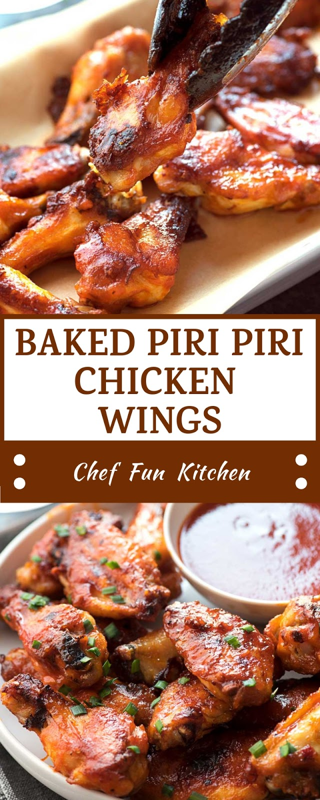 BAKED PIRI PIRI CHICKEN WINGS