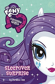 MLP Equestria Girls: Sleepover Surprise Book Media
