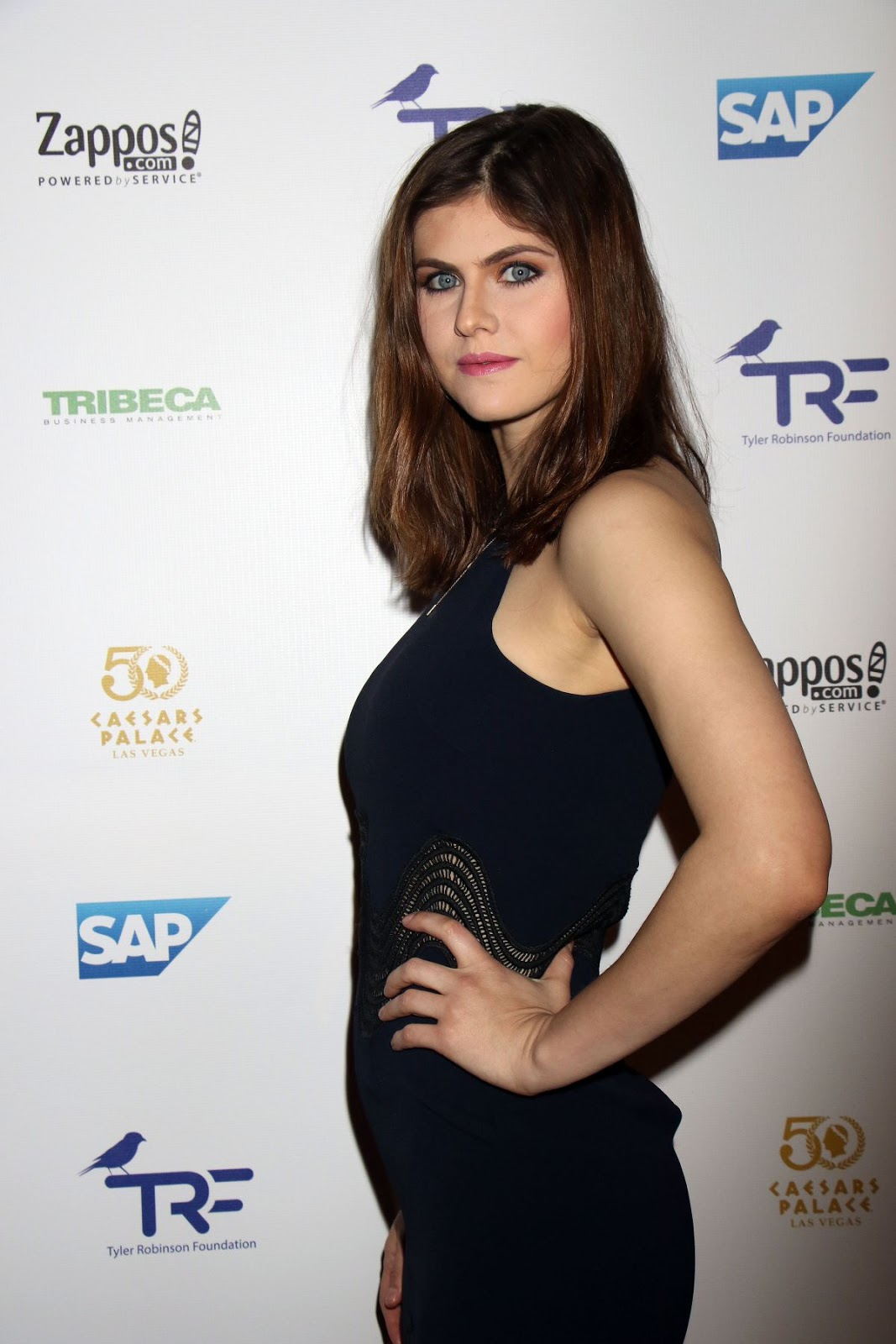 Alexandra Daddario at Tyler Robinson Foundation Gala