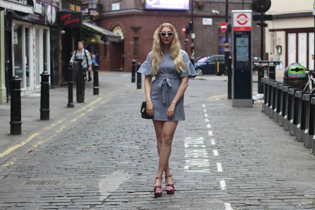 velvet shoes high street fashion blog