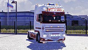 DAF XF 105 SSC Holland truck