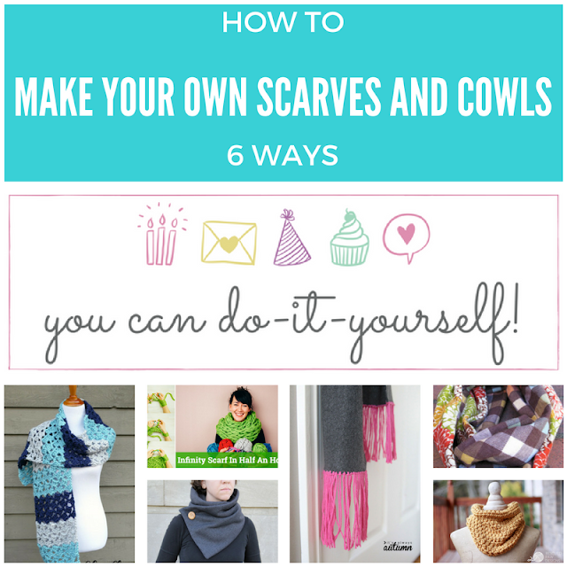 You can do it yourself: scarves and cowls
