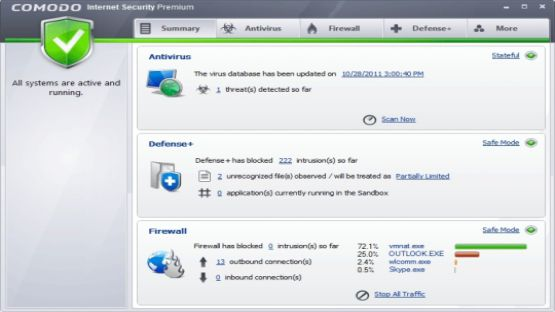 Comodo Internet Security screenshot 3