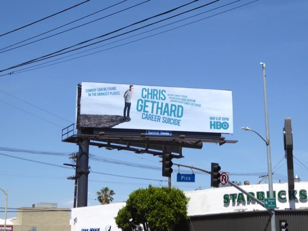 Chris Gethard Career Suicide billboard