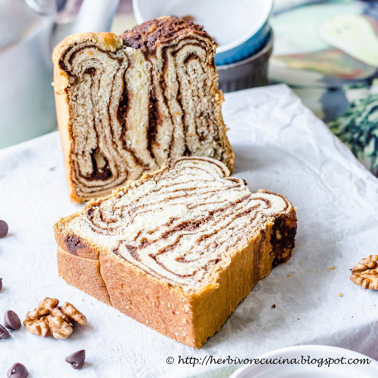 walnut walnut walnut bread chocolate walnut povitica a croation sweet ...