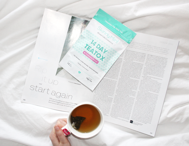 weight loss tea blog review