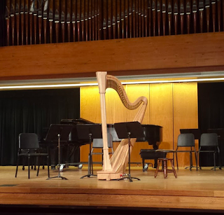michigan harp harpe recital récitale concert interlochen center for the arts