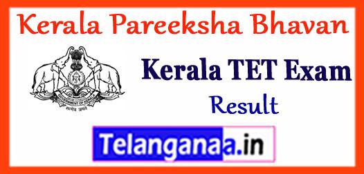 Kerala TET Results 2017 Download