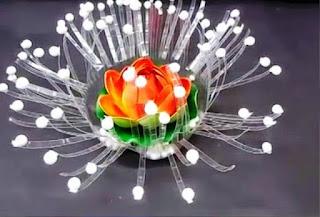 Gambar Bunga Dari Botol Plastik