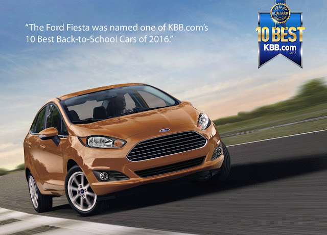 The Ford Fiesta is One of KBB's 10 Best Back-to-School Cars