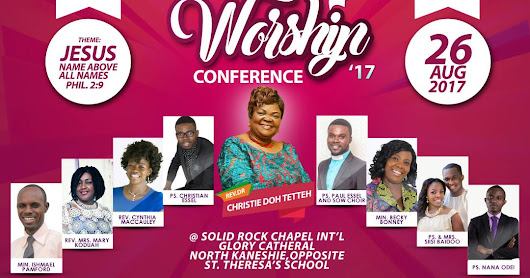 SCHOOL OF WORSHIP CONFERENCE 2017
