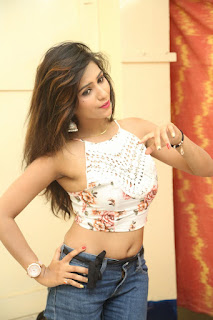 Deekshita Parvathi in a short crop top and Denim Jeans Spicy Pics Beautiful Actress Deekshita Parvathi January 2017 CelebxNext (147).JPG