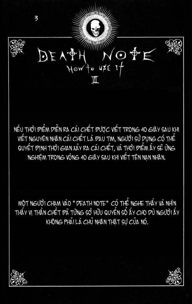 Death Note chapter 110 - how to use trang 6