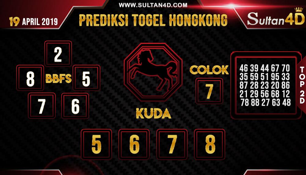 PREDIKSI TOGEL HONGKONG SULTAN4D 19 APRIL 2019