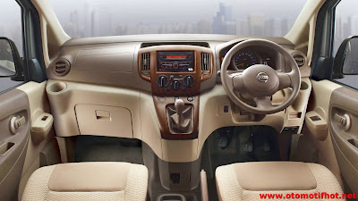Model Interior mobil Nissan Evalia