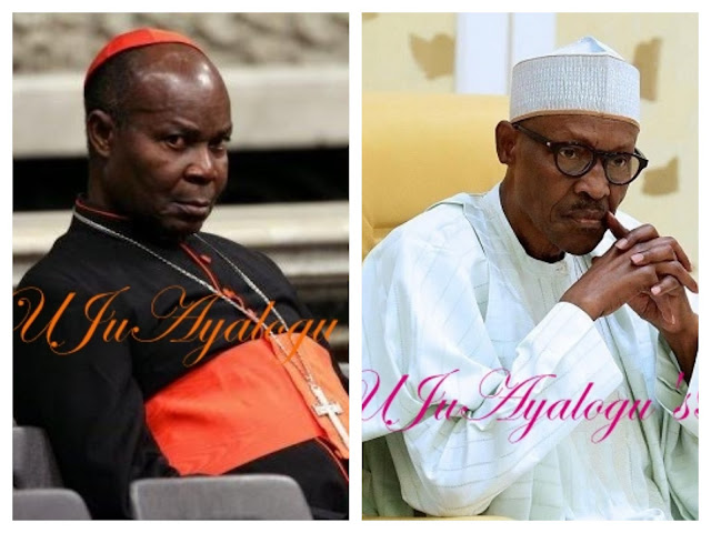Cardinal Olubunmi Okogie reveals why Buhari should retire in 2019
