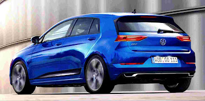 The 2018 Volkswagen Golf 8