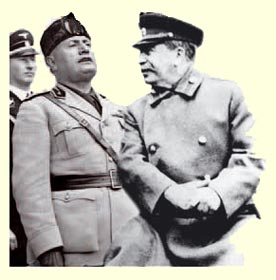 mussolini and stalin relationship