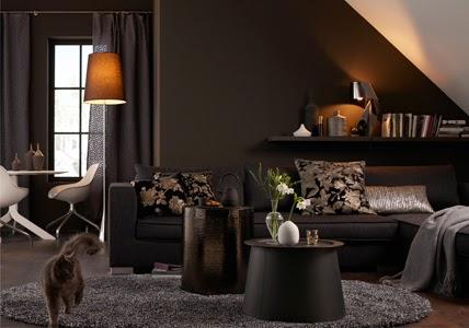 Lindos dise os de salas marrones salas con estilo for Sala de estar marron